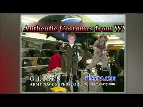 Halloween Costumes at G.I. Joe's Army Navy Super Store - North Attleboro MA