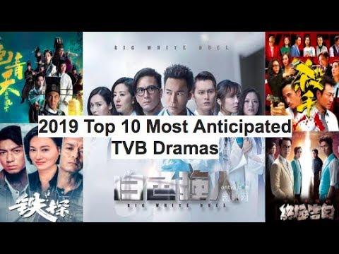 2019 Top 10 Anticipated TVB HongKong Drama