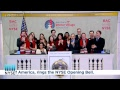 Bank of America and Bryant Park Corporation Ring the NYSE Opening Bell