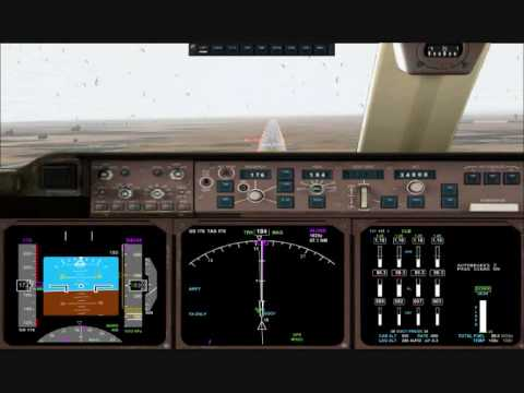 FS2004 - Stormy Approach Into Dakar, Senegal