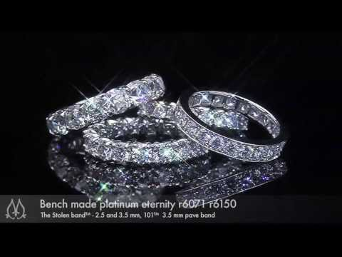 Diamond wedding bands that will heal your soul by Leon Megé