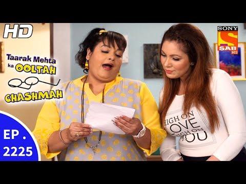 Taarak Mehta Ka Ooltah Chashmah - तारक मेहता - Ep 2225 - 15th Jun, 2017 thumbnail