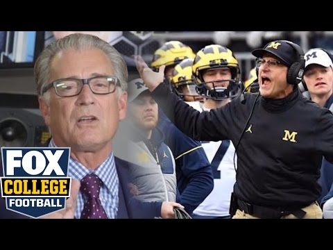 Mike Pereira rips Jim Harbaugh for officiating tirade after Ohio State game