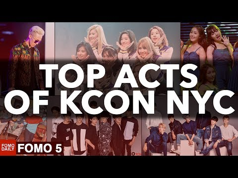 Top Acts of KCON NYC • Fomo 5