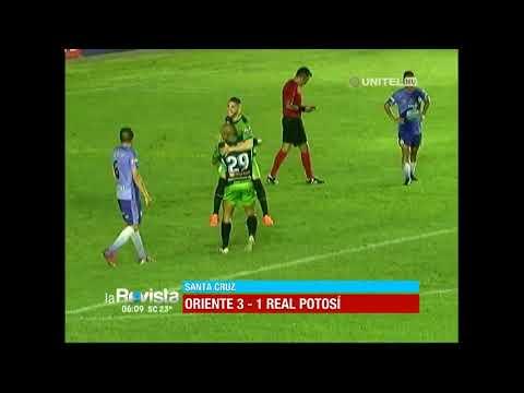 Torneo Apertura: Oriente Petrolero 3 – 1 Real Potosí