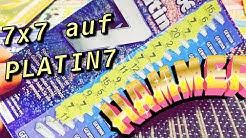 Rubbellose Jackpot Es Regnet 7er auf Platin💥 Rubbellose Platin7/10€ Lose FreiRubbeln/2020 KINGLucky
