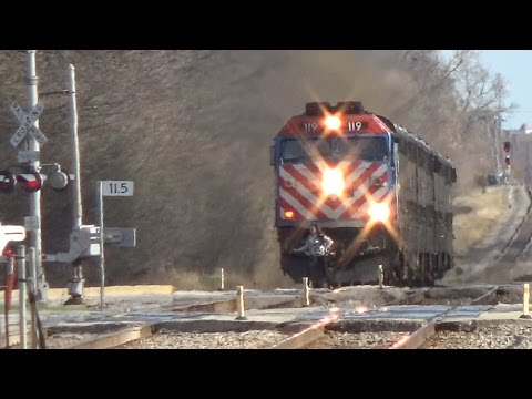 Thumbnail: NEAR MISS!! Girl almost hit by Metra express train Chicago, IL
