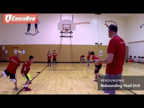 Rebounding - Rebounding Shell Drill - Coaching Youth Basketball