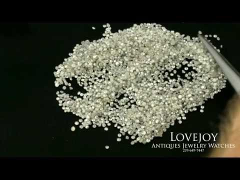 Loose Diamonds Melee 500cts $49 Per Ct Round Wholesale
