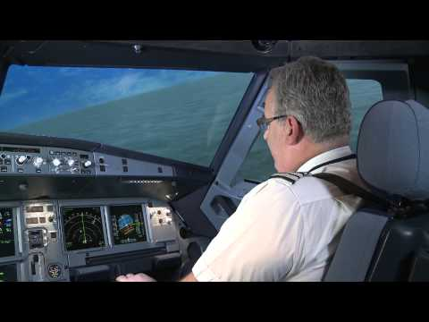 British Airways A320 Simulator