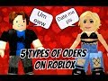 5 Types of ODers on Roblox