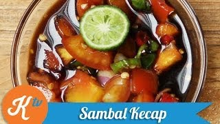 Resep Sambal Kecap (spicy Sweet Soy Sauce Recipe Video)
