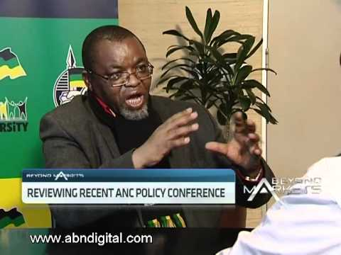 ANC Policy Conference with Gwede Mantashe