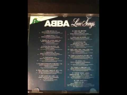 "ABBA ""Love Songs"" 1989 CD release"