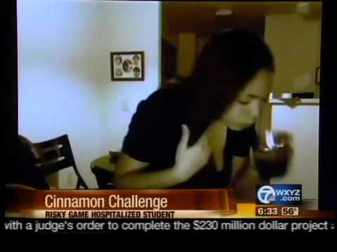 Cinnamon Challenge Huron High School
