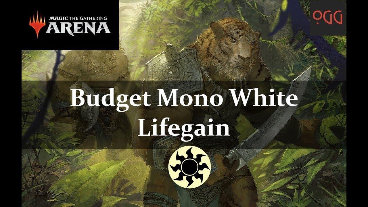 MTG: Arena Deck Tech: Budget Mono White Lifegain [RNA Standard]