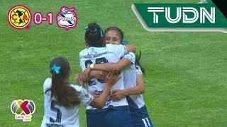 Puebla pasa por encima del cuadro azulcrema | América 0 - 1 Puebla | Liga MX Femenil -  Ap19 J2