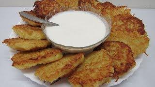 Мои Одесские ДРАНИКИ (Деруны). Простое блюдо из картошки