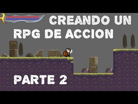 Creando Un RPG De Accion Clasico! #2 | Construct 2 (HUD De Vida, Ataque Del Jugador)