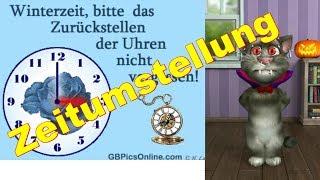 😤 Zeitumstellung Sommerzeit - Winterzeit Uhren 😤 Körperverletzung 😤 Talking Tom sprechende Katze