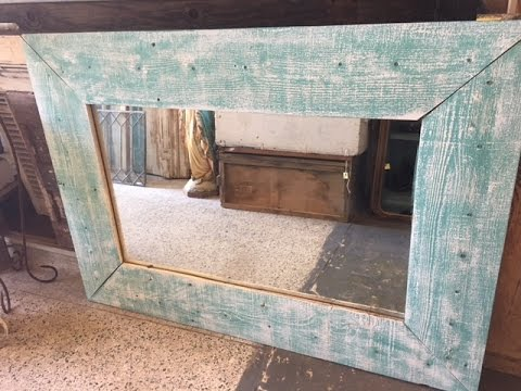 the 5 reclaimed wood dresser mirror makeover easy diy project for all skill levels