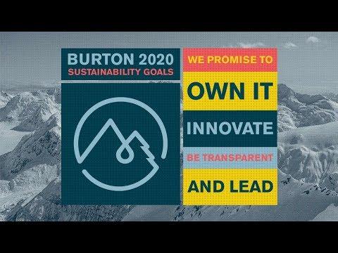 Burton 2020: Sustainability Goals