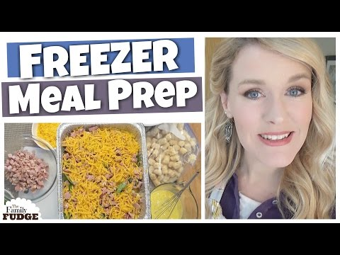 FREEZER MEAL PREP || 5 Family Favorites || CASSEROLES
