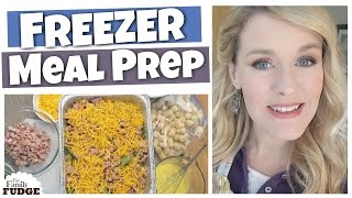 FREEZER MEAL PREP || 5 Family Favorites || CASSEROLES