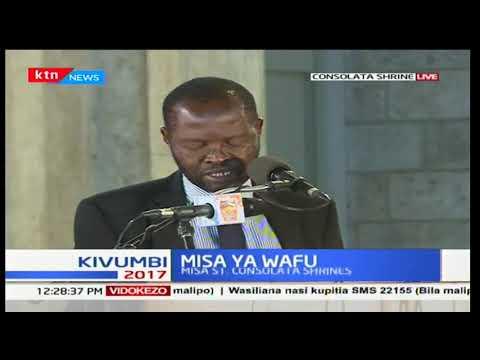 Prof Anyang' Nyong'o eulogizes the late Msando