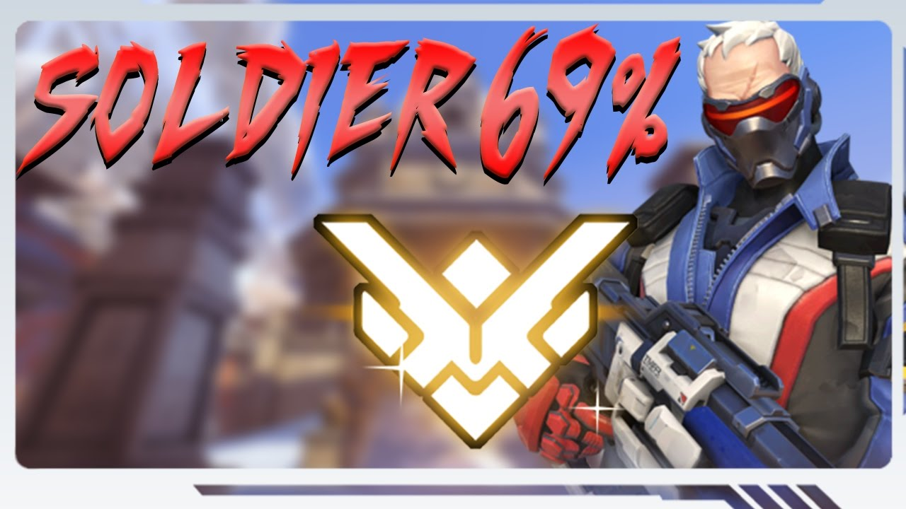 Grand Master Robot De Cocina 24h Soldier 69 Kill Participation Back To Grand Master Overwatch Gameplay 34
