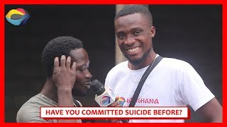 Have You Committed SUICIDE Before? | Street Quiz | Funny African Videos | Funny Videos
