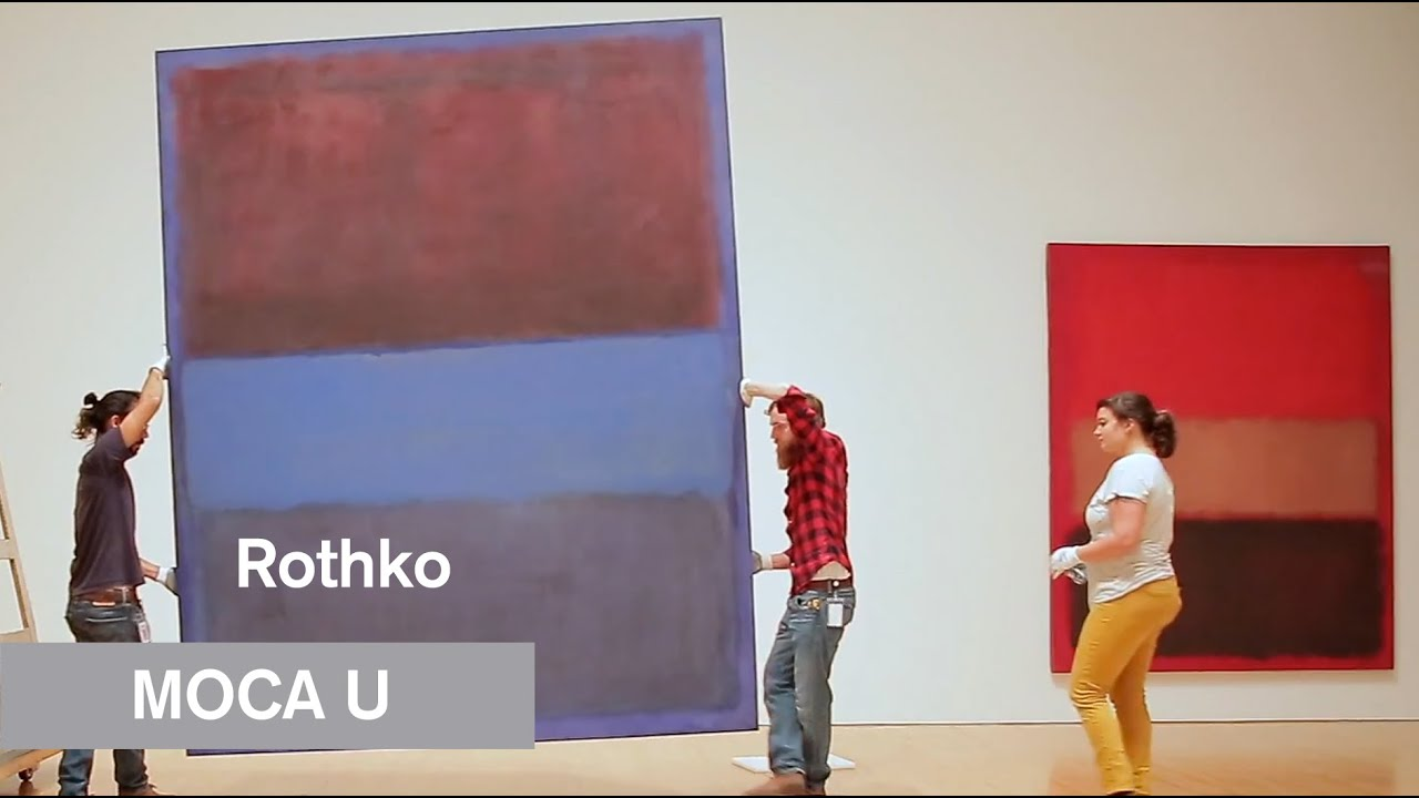 Mark Rothko The Art Of Conservation Moca U Mocatv