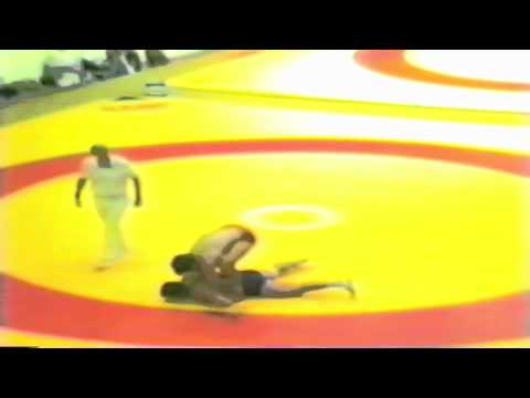 1987 Senior World Championships: 100 kg Clark Davis (CAN) vs. Georgi Jantschev (BUL)