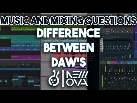 What's The Difference Between DAW's (Digital Audio Workstations) ~ Pro Tools // Logic // FL Studio