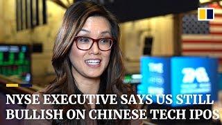 NYSE executive Betty Liu: US bullish on Chinese tech IPOs