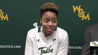Women's Basketball Postgame Press Conference: UNCW