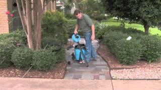 Vacmaster Leaf Vacuum / Leaf Blower Combo VBV1210 12 gallon / 5 peak HP