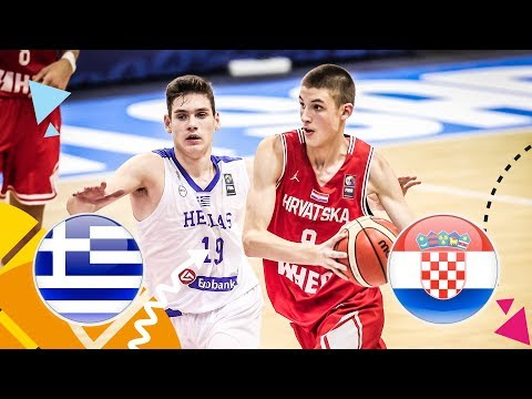 Greece v Croatia – Full Game – FIBA U16 European Championship 2018