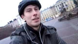 Как ездить на велосипеде и снимать видео ? ALEX PUCH(White Cathedral Square., 2012-10-19T19:23:58.000Z)