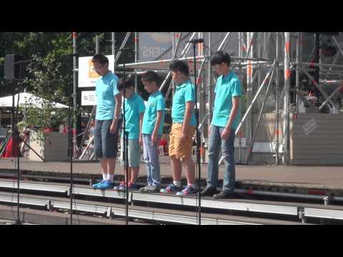 World Choir games 2014. Riga. Esplanāde. Shanghai Little Star Chorus (18.07.2014 no 12.00) - 00307