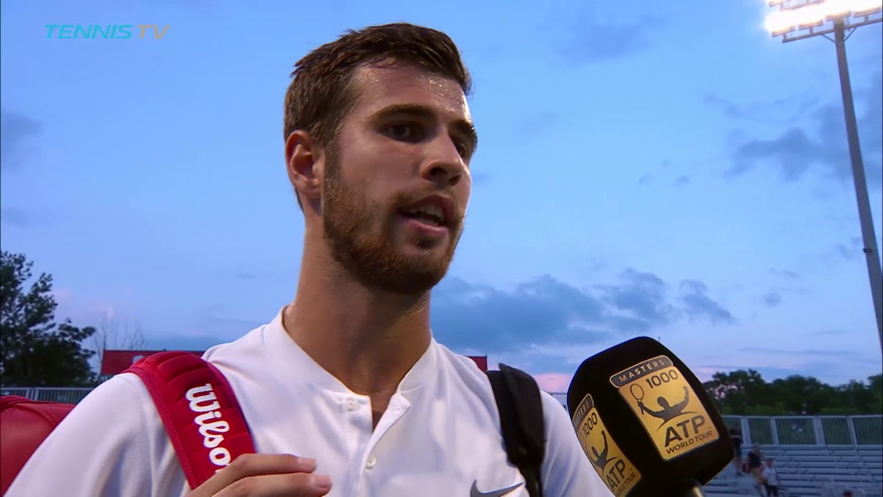 Khachanov Expected A Tough Match Against Isner In Toronto 2018