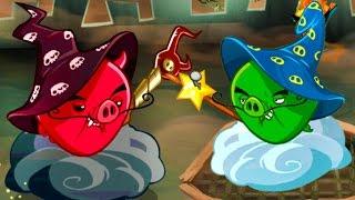 Энгри Бердс #34 ЗЛЫЕ ПТИЧКИ ЭПИК - Мультик ИГРА про мультфильм Аngry Birds Bad Piggies #КРУТИЛКИНЫ