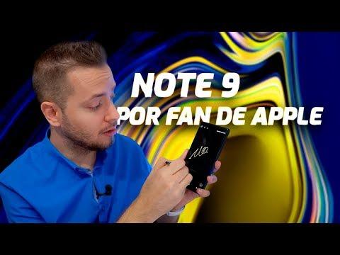 Samsung Galaxy NOTE 9 por FAN DE APPLE
