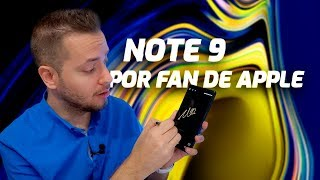 Samsung Galaxy NOTE 9 por FAN DE APPLE