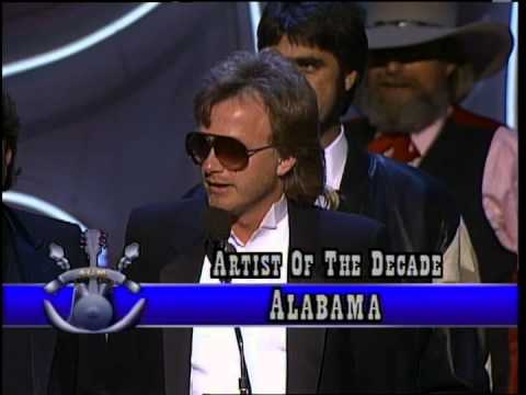 Alabama wins Artist of the Decade  ACM Awards 1989