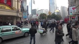 【上海】南京東路を外灘から人民広場までお散歩 / 2012年12月