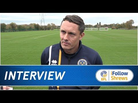 iNTERVIEW | Paul Hurst Pre Peterborough United