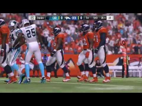 Carolina Panthers vs. Denver Broncos 9/8/16 - Madden 17 Simulation
