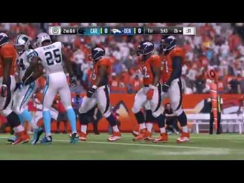 Carolina Panthers vs. Denver Broncos 9/8/16 - Madden 17 Simulation