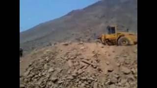 Como aplanar un terreno en un cerro parte 1